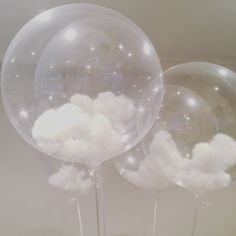 ☁️☁️ CLOUD BALLOONS ☁️☁️ these look even better in person!
