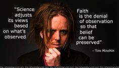 Science adjusts its views based on what's observed. Faith is the denial of observation so that belief can be preserved. #religion #science #faith #atheist #atheism atheistsblog.tumblr.com/post/9828357773