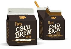 Peet's Cold Brew Coffee by Pavement