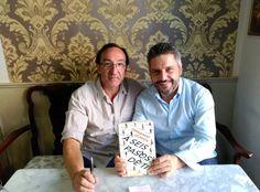 Mi amigo Julio del Valle viene desde Valladolid a Madrid para que le firme el libro. Eres un fenómeno. Gracias!!!!