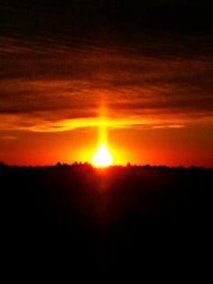 A cross sunrise.....peter robichaud