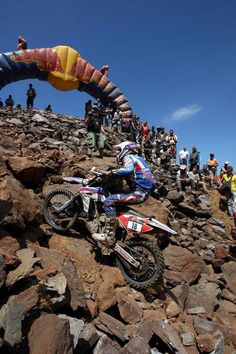 Erzberg Rodeo enduro is the toughest enduro in the world but i sure would love to give you a try.