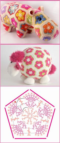 How To Crochet African Flower Pentagon [Free Crochet Pattern and Video Tutorials]