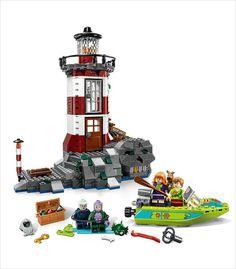 scooby doo legos - haunted lighthouse