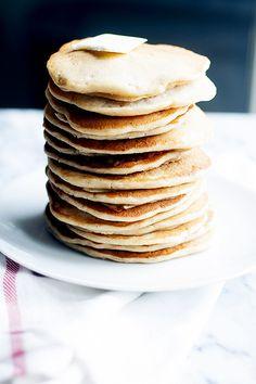 apple cider pancakes | heathersfrenchpress.com