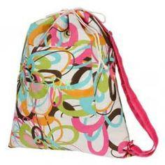 Monogrammed TUTTI FRUTTI Laundry Bag by MonogramGalleria on Etsy, $28.00