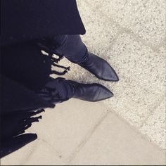 Morning! In a pointy Shoe mood today.. And you? #new #fashion #ootd #sweden #stockholm #black