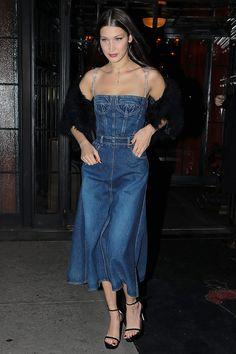Белла Хадид в Christian Dior в отеле Bowery в Нью-Йорке