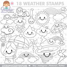 Unicorn Stamp COMMERCIAL USE Digi Stamp Digital Image Party Digistamp Unicorn Coloring Page
