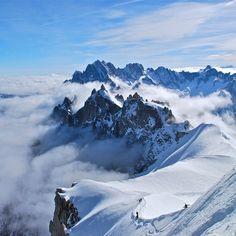 Chamonix, France...on my skiing bucket list!