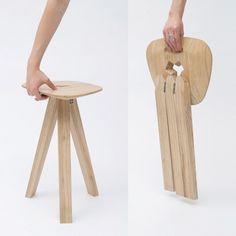 Складная табуретка | Pro Handmade // Sehr durchdachter #Sitzhocker
