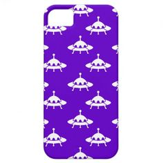 White Spaceships iPhone 5 Cover - © ThatBlueBird. All Rights Reserved.
