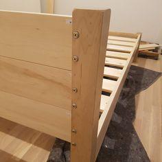Low Fuji Attic Platform Wooden Bed Frame par Get Laid Beds Japanese Platform Bed, Modern Wooden Bed, Under Bed Storage Boxes, Attic Bed, Mattress Frame, Bed Photos, Wooden Bed Frames, Daybed With Trundle, Platform Bed Frame