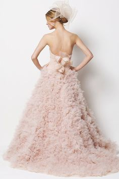 loving blush wedding gowns   http://www.watters.com/Product/WattersBrides/9087B/#Colors:oatmeal