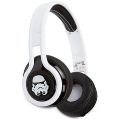 Sms Audio Over-Ear Storm Trooper Headphones ($80) ❤ liked on Polyvore featuring men's fashion, men's accessories, men's tech accessories, accessories and storm trooper
