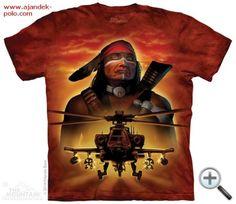 APACSOK The Mountain indián mintás ajándék póló. IndiánokPólókCouture cec4e309cc