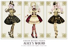 ALICE'S WORLD TIGHTS