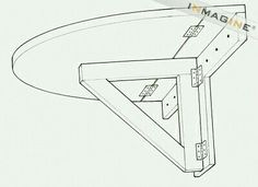Folding Wall Mounted Table Plans PDF Woodworking Use this idea to add a chalkboard/desk in Ty's room. Maybe also put one in the living room for an extra desk? Wall Mounted Folding Table, Folding Desk, Folding Walls, Wall Mounted Tv, Folding Table Diy, Wall Mounted Kitchen Table, Fold Up Table, Folding Shelf Bracket, Woodworking For Kids