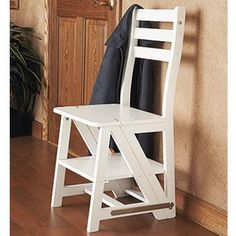 Turns into stepladder!! Franklin Chair / Step Stool