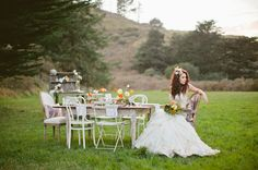 Spring Wedding Inspiration: Nature as Science