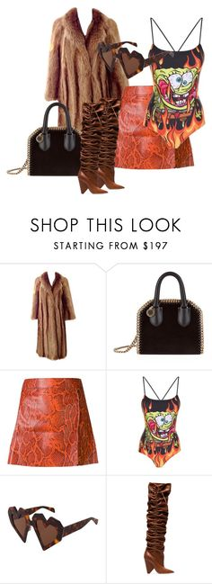 """""""PIMPIN' ALL OVER THE WORLD // Naomi Campbell"""" by xxxthebombshellfactoryxxx on Polyvore featuring Chloé, STELLA McCARTNEY, Moschino, Maison Kitsuné and Yves Saint Laurent"""