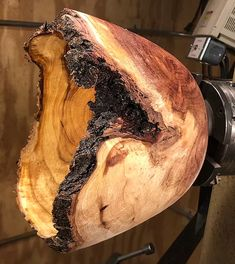 I seem to be getting several commissioned projects turning mesquite burls. This is the first year I have turned mesquite burl so it is great to gain the experi