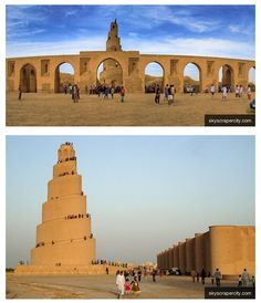 The Great Mosque of Samarra is over 1000 years old!