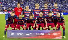 EQUIPOS DE FÚTBOL: F. C. BARCELONA 2015-16 contra Real Madrid