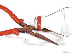 Comment détacher la rouille du métal