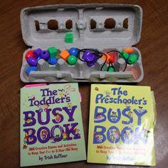 Preschool Workbox ideas