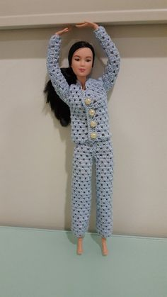 Barbie Pajama Set - free pattern