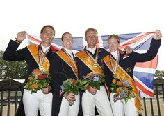 Britain clinch first European Dressage Championships victory