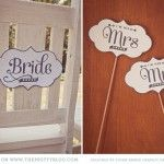 Wedding Signs {Printables} | The Pretty Blog
