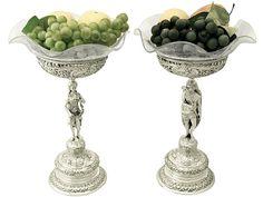 German Silver, Cut and Etched Glass Centrepieces - Antique http://www.acsilver.co.uk/shop/pc/German-Silver-Cut-and-Etched-Glass-Centrepieces-Antique-Circa-1880-85p6216.htm