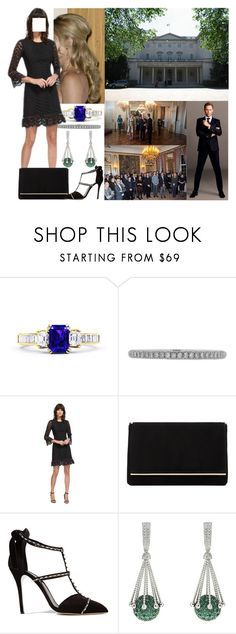 """Attending a New Year's reception in the morning"" by josephineofbaden ❤ liked on Polyvore featuring Reception, Lucie Campbell, Dune and Oscar de la Renta"
