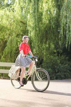 Stripes and Bikes | Finding Femme