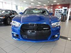 2013 Dodge Charger SRT8 Blue Streak Pearl