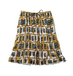 $39 FOR ALL PLEATS? 2 FOR PENCIL INCLUDING DENIM?Joe Fresh Women's Print Pleat Skirt