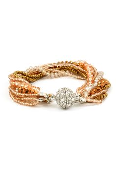 Danica Bracelet in Vitrail Champagne on Emma Stine Limited