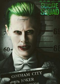 The Joker movie poster by spider.monkey23