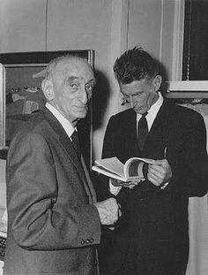 Henri Hayden e Samuel Beckett.