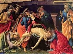 Image result for Sandro Botticelli La Pieta