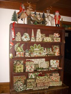 A Collection of Christmas holly boxes Merry Christmas To All, Christmas Store, Victorian Christmas, Primitive Christmas, Country Christmas, Beautiful Christmas, All Things Christmas, Christmas Holidays, Holly Christmas