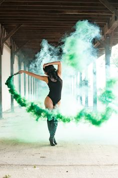 "Green Trails - Green trails of smoke  Imagrey by <a href=""http://www.jamesyoungphotography.com"">James Young Photography</a>"