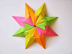 Star Diamond 2, the back - Diamond Star 2, back, by Francesco Guarnieri  http://guarnieri-origami.blogspot.it/search/label/star