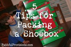 Make the most of the space in your Christmas box. Ideas for making every square inch count!