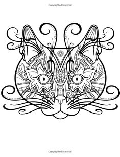 Colorful Cats Coloring Books For Adults Featuring Over 30 Best Stress Relieving Designs