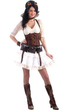 Steampunk Dress Costume