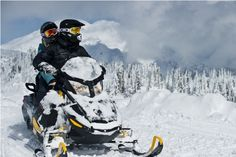Image result for snow mobile couple