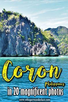 Coron Philippines in 20 magnificent photos   Coron Palawan   Coron images   Palawan Philippines   Coron Island   Kayangan Lake   Twin Lagoon   Mount Tapyas   things to see in Coron  